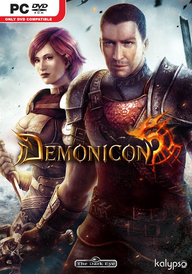 The Dark Eye Demonicon Box Art