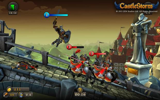 CastleStorm command a new faction