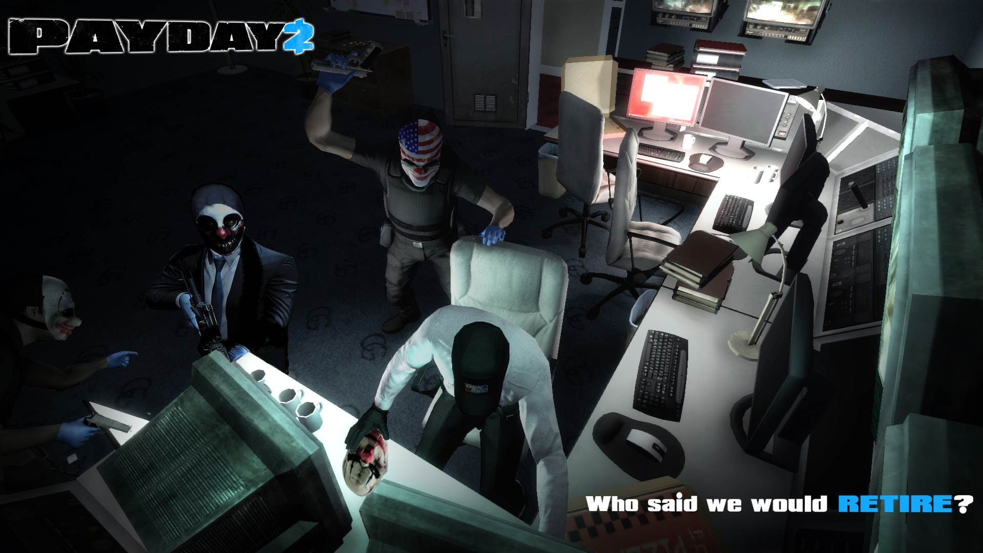Payday 2 Wallpapers In 1080p Hd