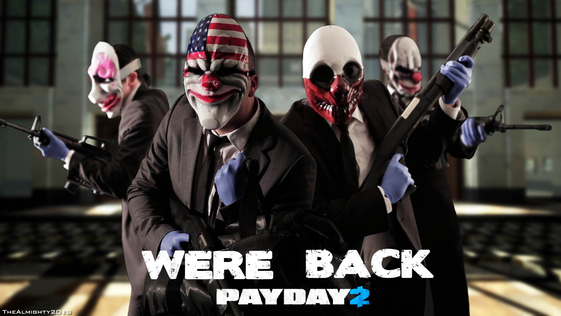 payday 2 wallpapers « GamingBolt.com: Video Game News, Reviews ...