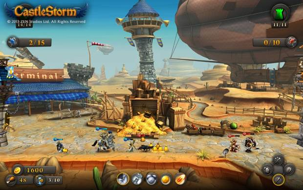 CastleStorm  royal airport