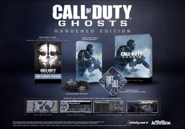 Call of Duty Ghosts_Hardened Edition