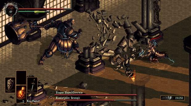 Dark Souls Isometric 2D Game