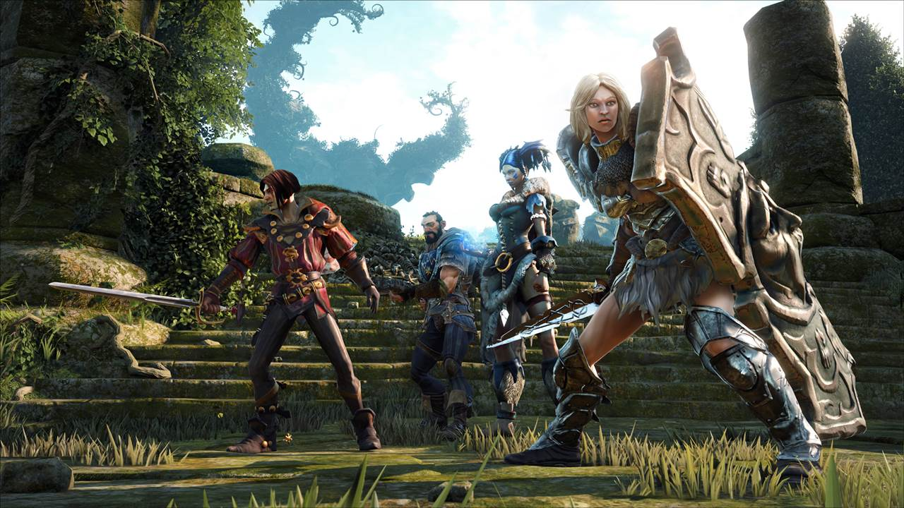 "Fable: Legends Characters ""Rendered to Level of Detail Not"