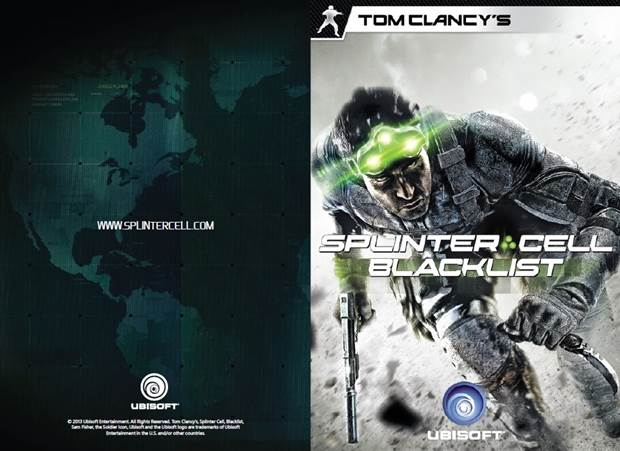 Splinter Cell Blacklist Notebook Cover
