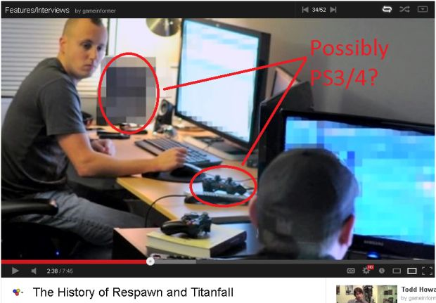Titanfall: Developer Interview Shows Possible PS3/PS4 Dev-kit?