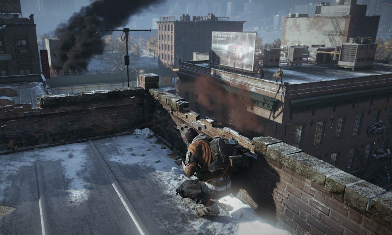 Tom Clancy The Division Tablet Gameplay