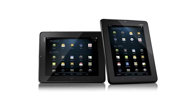 VIZIO tablet amd