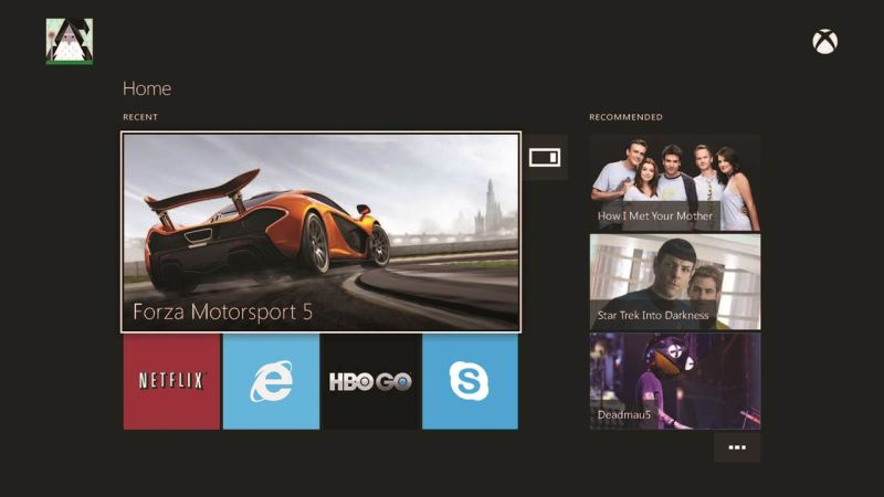Xbox One UI (3)