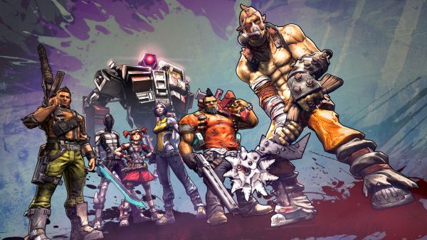 borderlands 2_all vault hunters