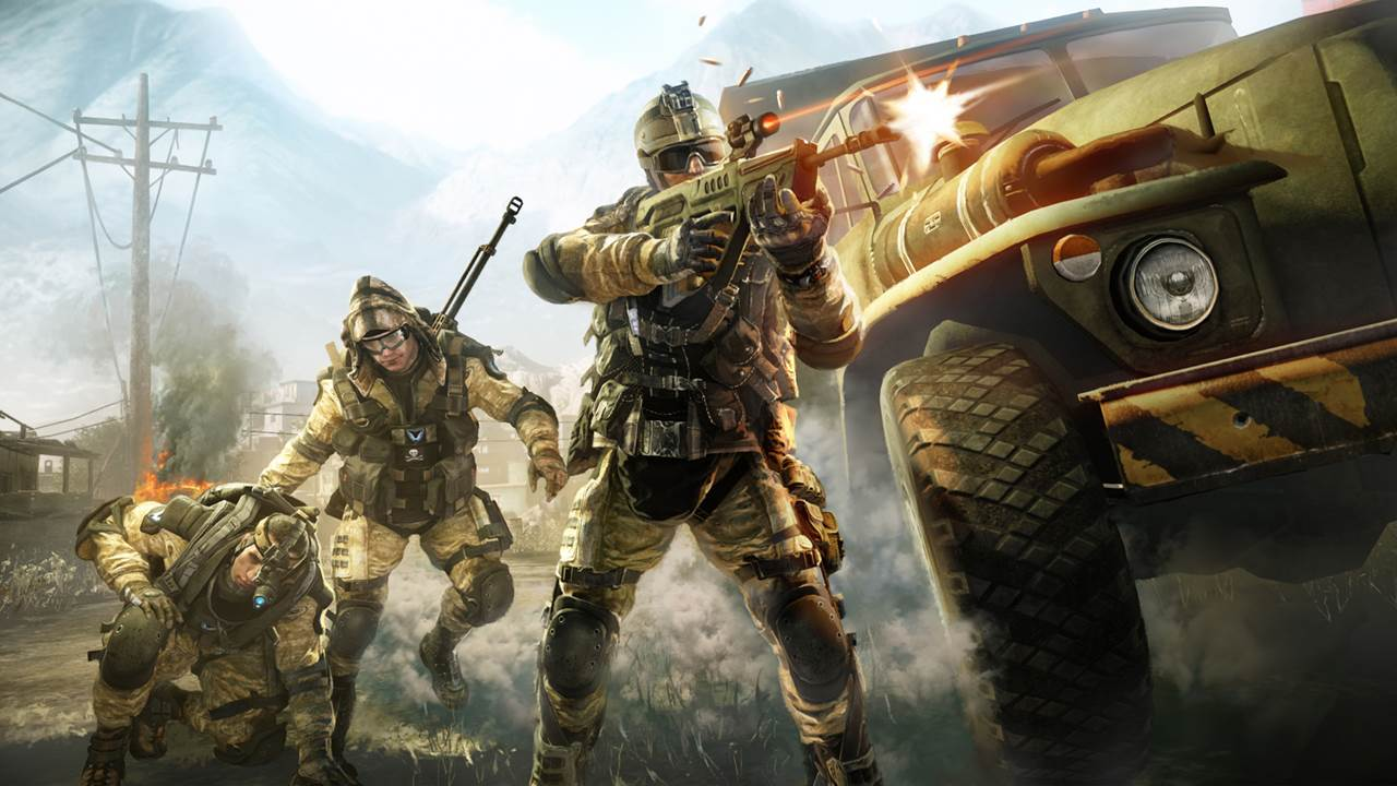 Warface Is Now Available For Free On PS4
