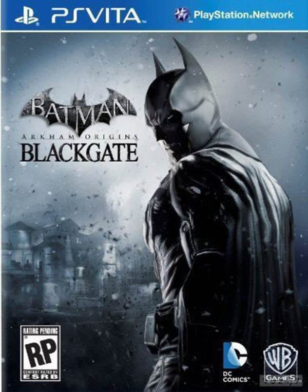 Batman: Arkham Origins -Blackgate Box Art