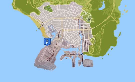 GTA 5 TRIATHLON LOCATIONS