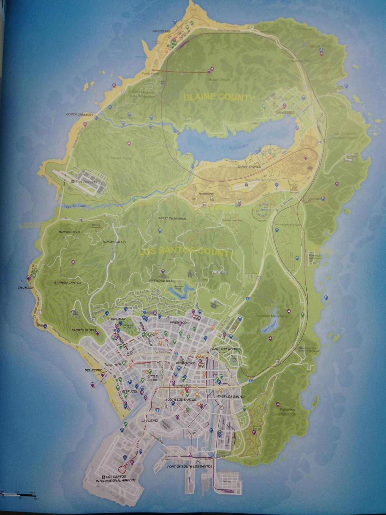 Gta 5 map locations – points of interest