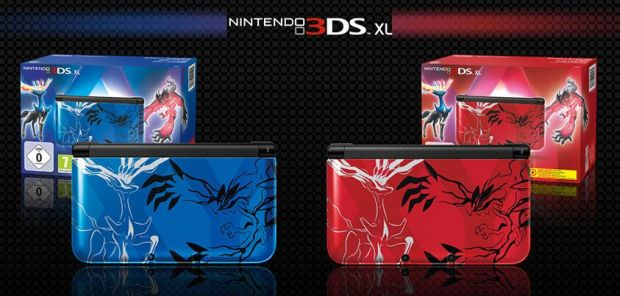 Pokemon X & Y 3DS
