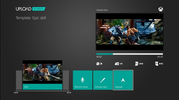 Xbox One_video upload