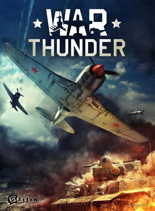 War Thunder Box Art