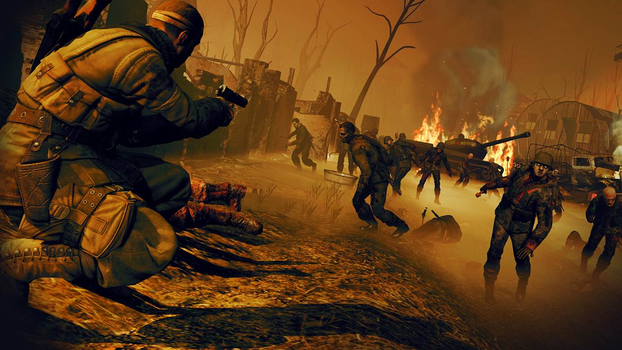 Sniper Elite Nazi Zombie  <b> Military </b>  headed to games consoles