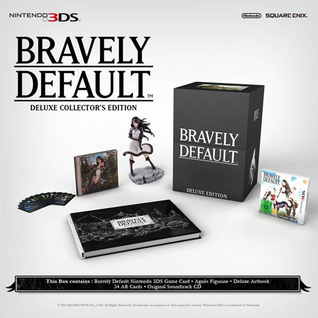 Bravely Default Deluxe Collector's Edition