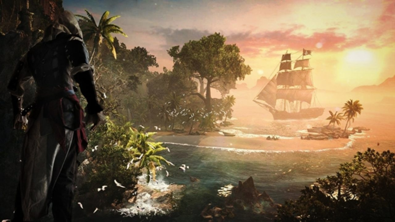 Assassin S Creed Iv Black Flag Ps4 Now In 1080p Resolution