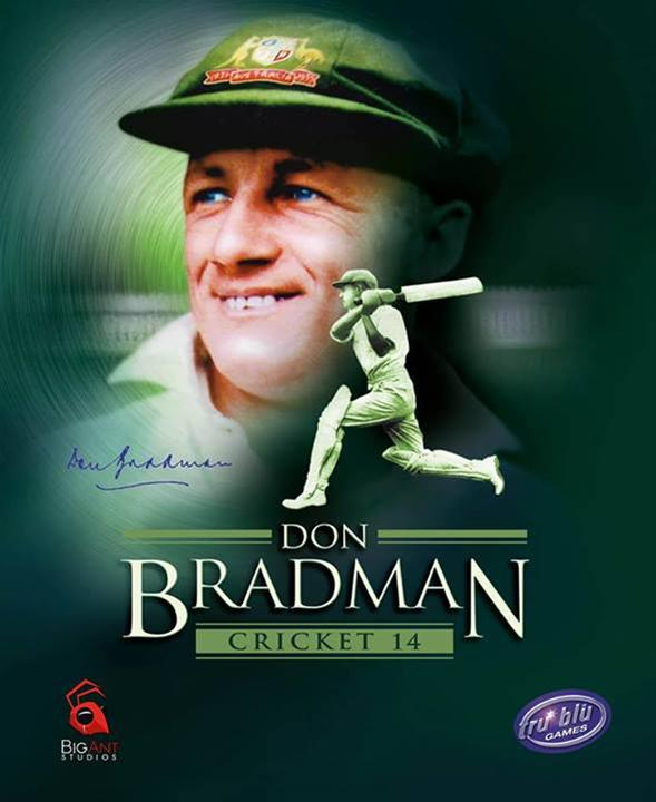 Don Bradman Cricket 14 Box Art