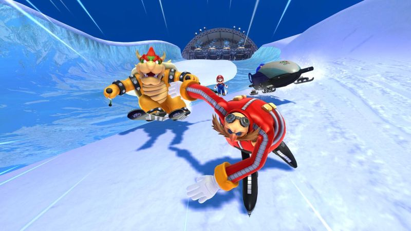 Mario & Sonic At Sochi 2014 Olympic Winter Games