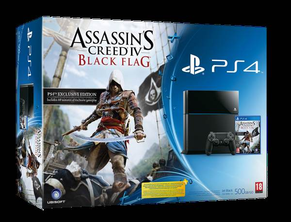 Assassin's Creed 4 PS4 Bundle