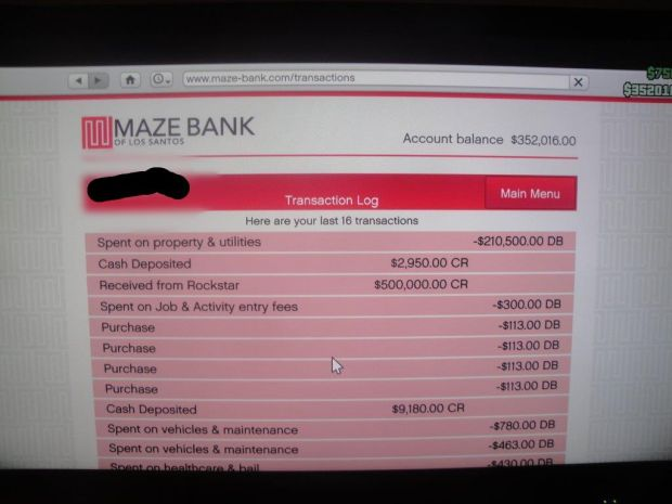 GTA Online cash stimulus