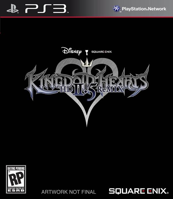 Kingdom Hearts 2.5 HD Remix Box Art