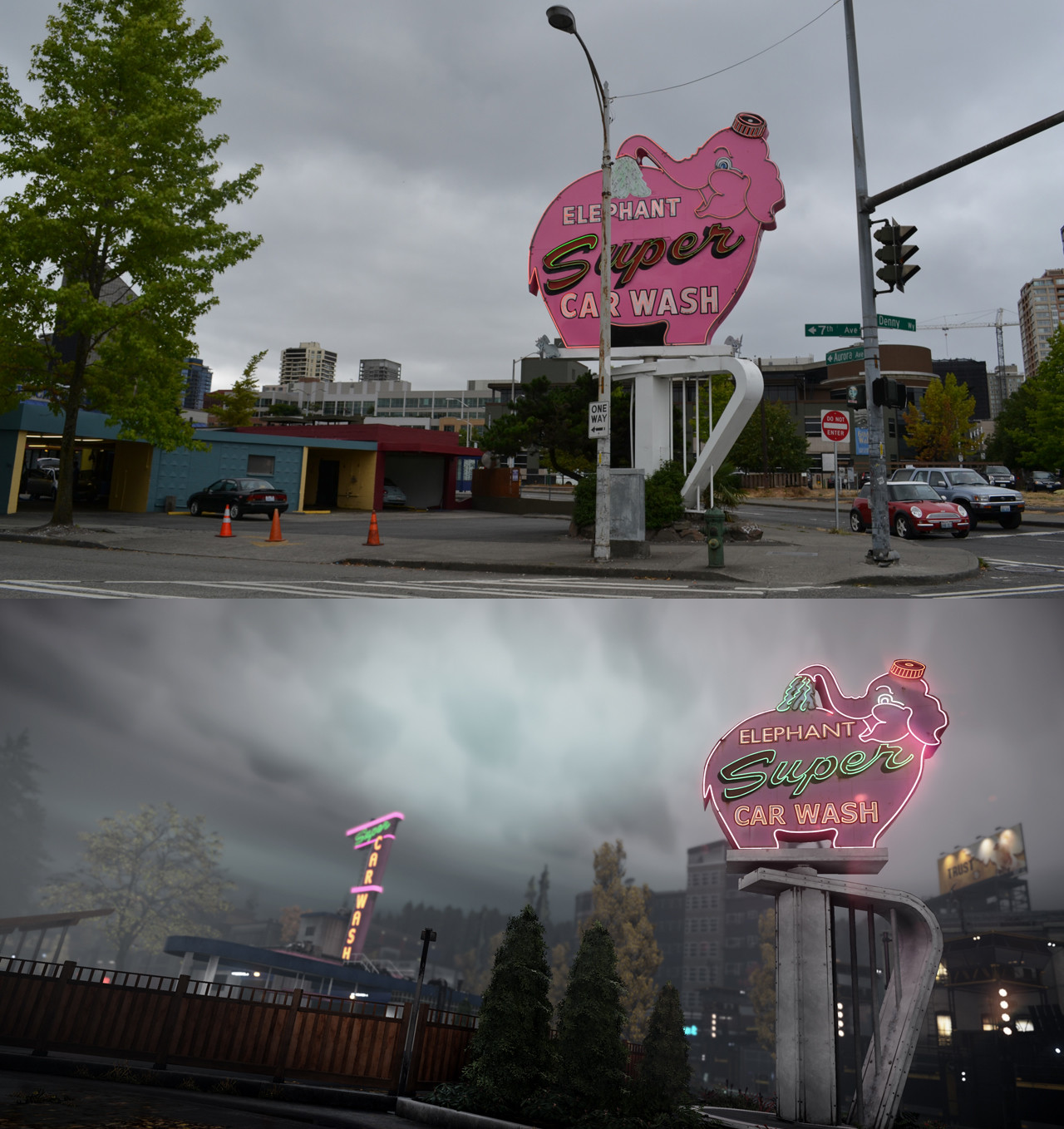 inFamous Second Son comparison