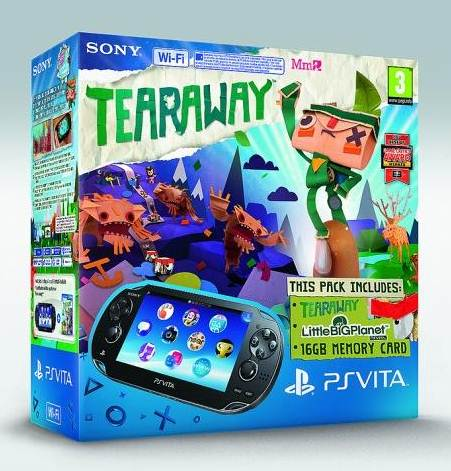 tearaway ps vita hardware bundle