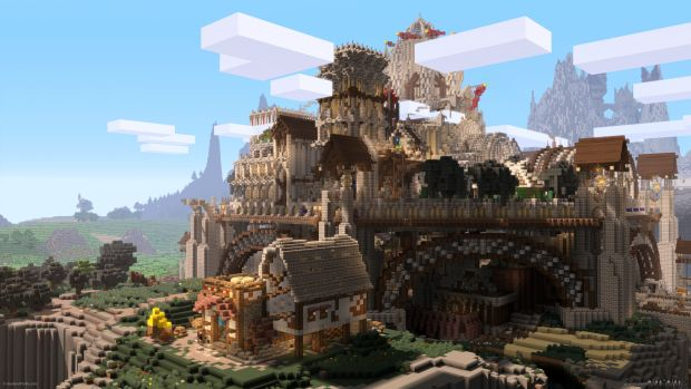 93 Awesome Minecraft Creations « GamingBolt.com: Video Game News ... Most Epic Picture Ever Taken