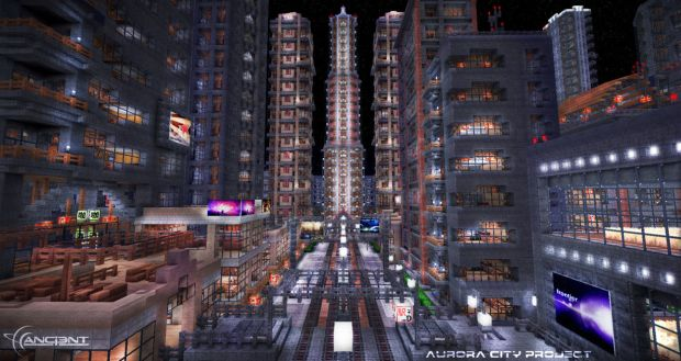 59. Minecraft City Building Project