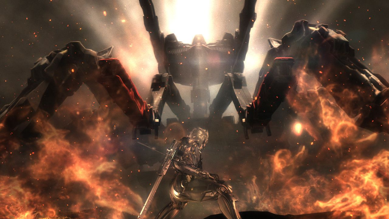 8. Metal Gear Rising Revengeance