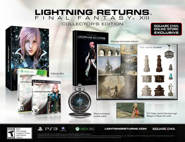 Final Fantasy 13 Lightning Returns Collectors Edition