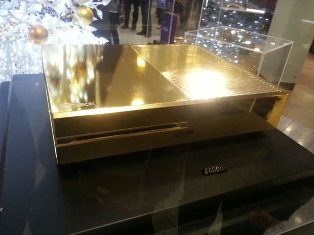 Gold Plated Xbox One