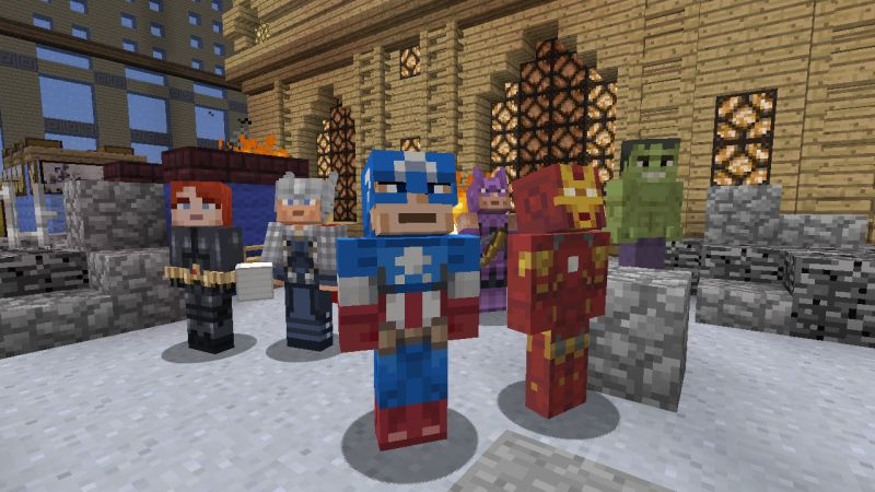 Minecraft_marvel_avengers_1