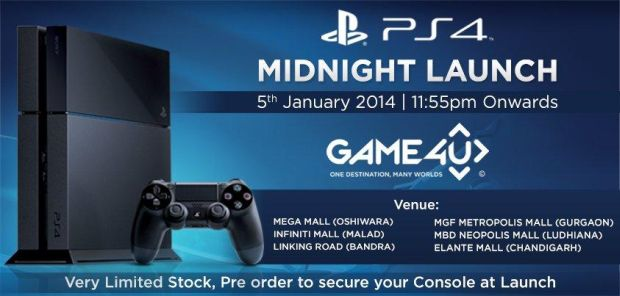 PS4 Midnight Launch