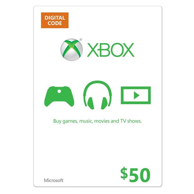 Xbox One Gift Cards