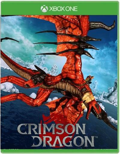 Crimson Dragon Box Art