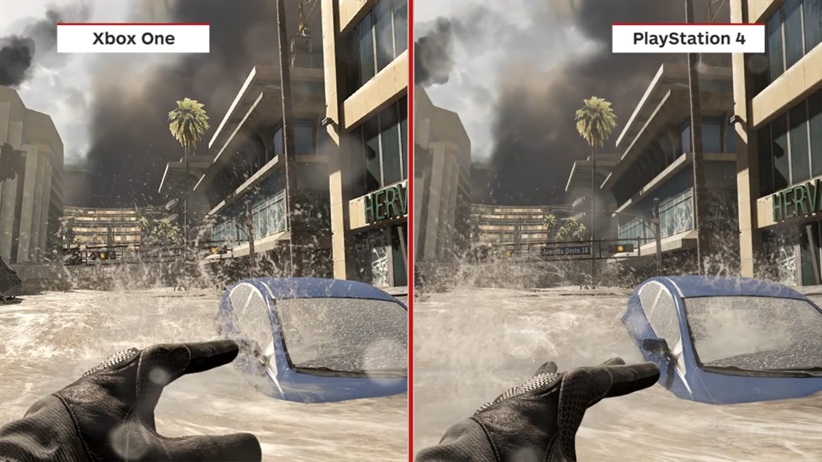 xbox one vs ps4 Ghosts