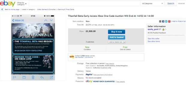 Titanfall-Ebay