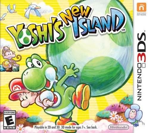 Yoshi's New Island Box Art