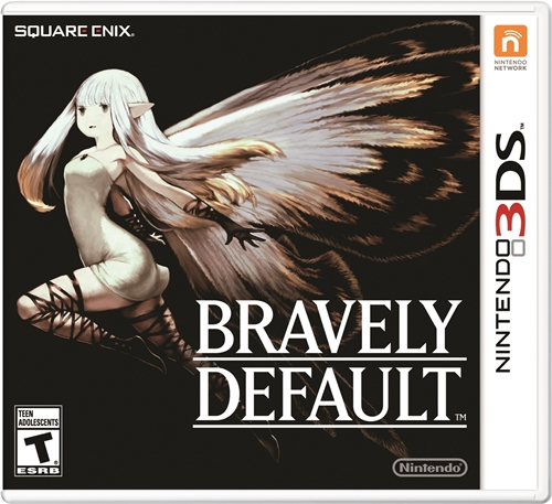 Bravely Default Box Art