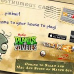Plants vs. Zombies Pinball Arriving for PC and Mac on March 5th