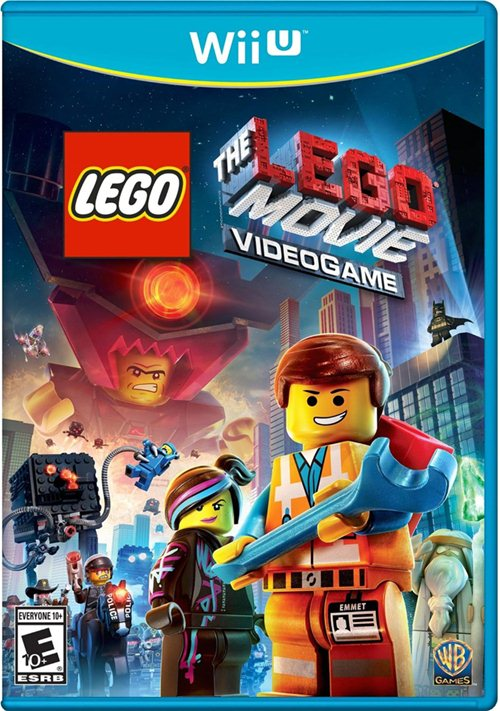 The Lego Movie Videogame Box Art