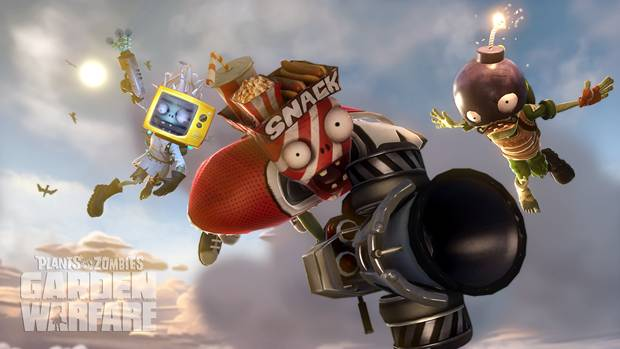 pvz garden warfare flyingshot