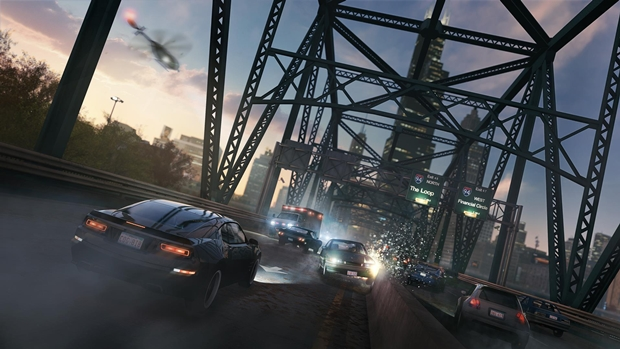 CHICAGO SKY WAY_WATCH_DOGS