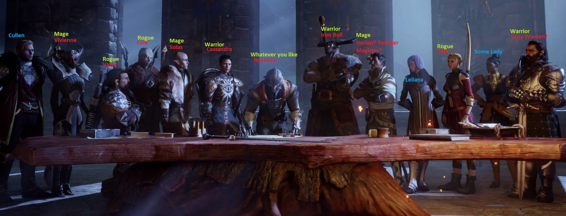 Dragon Age Inquisition_Characters