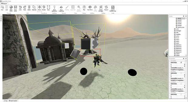 Reach3dx Editor